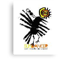 crow sundancer Canvas Print