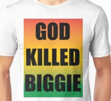 God Killed Biggie Unisex T-Shirt