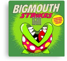 The 80's 8-bit Project - The Big Mouth Canvas Print