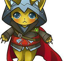 Assassin's Cat by BubbleCrab