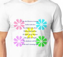 Shadow Clan Flowers in the Sun Unisex T-Shirt