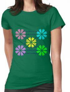 Shadow Clan Flowers in the Sun Womens Fitted T-Shirt