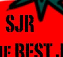 SJR is the BEST jr Sticker