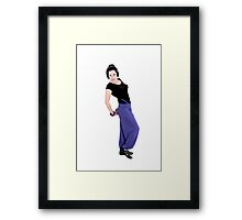 Dance sport Framed Print