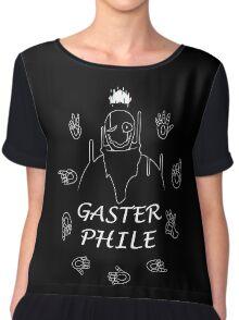 Gasterphile (Version 2) Chiffon Top