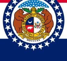 Missouri State Flag Graphic USA Styling Sticker