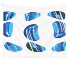 Blue Stones Wall Tapestry