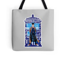 An Angel with all star red converse Shoes typograph Tote Bag