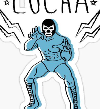 LUCHADOR Sticker