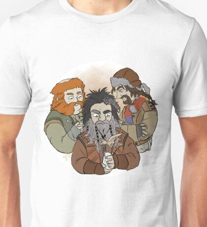 Bifur and Bofur and Bombur Unisex T-Shirt