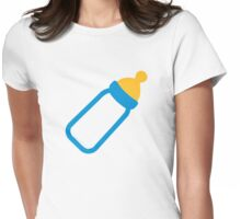 Baby bottle Womens Fitted T-Shirt