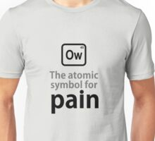 Atomic Symbol for Pain Unisex T-Shirt