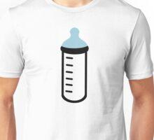 Blue baby bottle Unisex T-Shirt