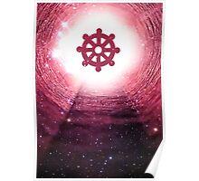 Buddhism (Wheel of Dharma) Poster