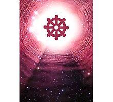 Buddhism (Wheel of Dharma) Photographic Print