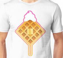 Waffle Pop - Pink Unisex T-Shirt