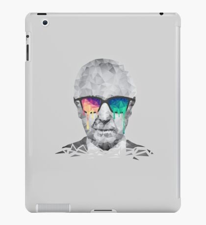 Albert Hofmann - Psychedelic Polygon Crystalised Portrait iPad Case/Skin