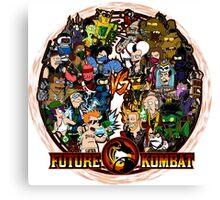 Future Kombat Canvas Print