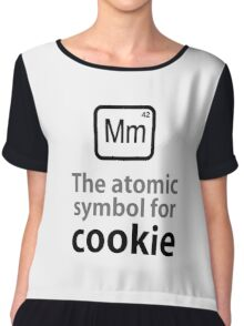 Atomic Symbol for Cookie Chiffon Top