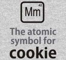 Atomic Symbol for Cookie One Piece - Short Sleeve