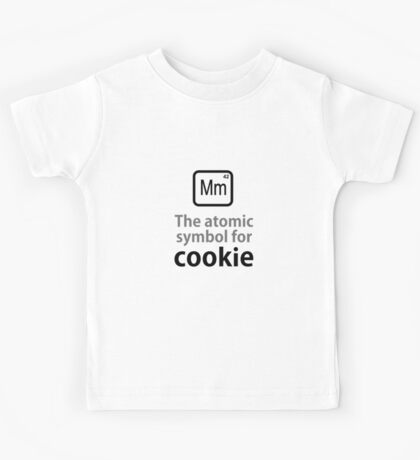 Atomic Symbol for Cookie Kids Tee