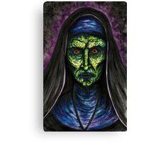 Demon Nun Canvas Print