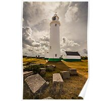 Lighthouse in Keyhaven Poster