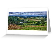 View From Woodland Farms Greeting Card