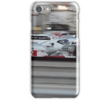 Prototype Sports Car Action iPhone Case/Skin