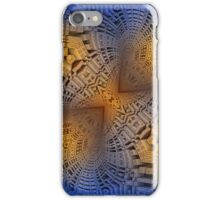 Golden Puzzle KM Blue Hue iPhone Case/Skin