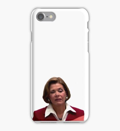 lucille bluth iPhone Case/Skin