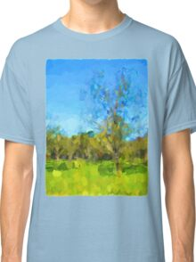 Windy Trees in a Row Classic T-Shirt