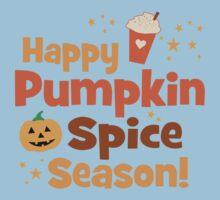 Happy Pumpkin Spice Season Kids Tee