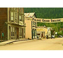 Queen Street in Dawson City Photographic Print