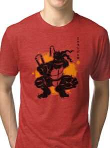 Nunchaku Warrior Tri-blend T-Shirt