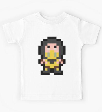 Pixel Scorpion Kids Tee