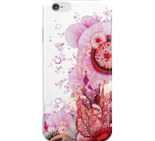 Coral Sunburst iPhone Case/Skin