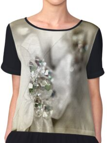 Bridal Beads Chiffon Top