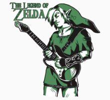 The Legend of Zelda - Guitar Link Kids Clothes