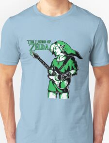 The Legend of Zelda - Guitar Link T-Shirt