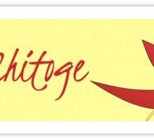 Team Chitoge Nisekoi Bumper Sticker Sticker