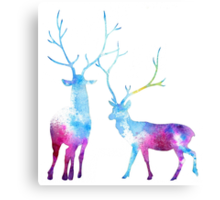 My Deer Universe Canvas Print