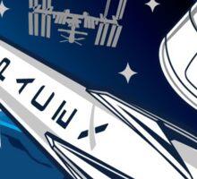 Rocket Science Space X Sticker