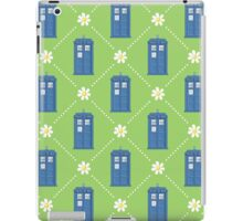 Police Box and Daisies pattern iPad Case/Skin