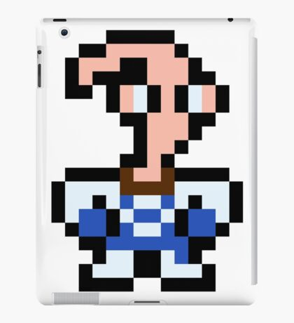 Pixel Earthworm Jim iPad Case/Skin