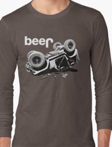 "Funny ""beer"" 4x4  Long Sleeve T-Shirt"