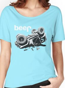 """Funny """"beer"""" 4x4  Women's Relaxed Fit T-Shirt"""