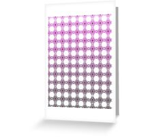 Fade to Purple Greeting Card