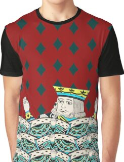 Red King Overboard Graphic T-Shirt
