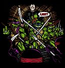 JASON TAKES THE TURTLES by popnerd